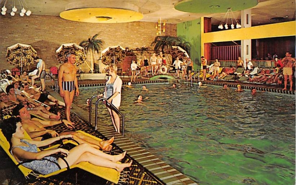 The Nevele Waikiki Indoor Pool Ellenville, New York Postcard