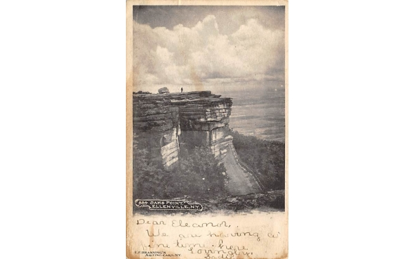 884 Sam's Point Ellenville, New York Postcard