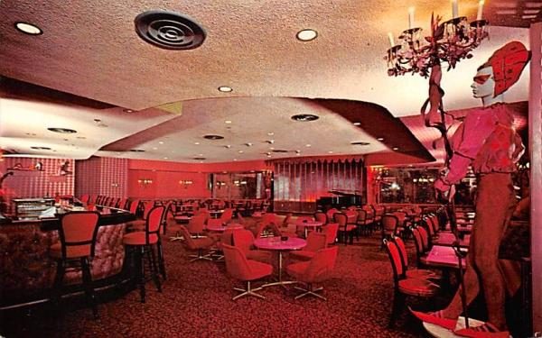 The Fallsview Harlequin Cocktail Lounge Ellenville, New York Postcard