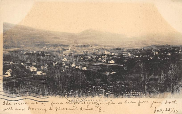 MISC Ellenville, New York Postcard