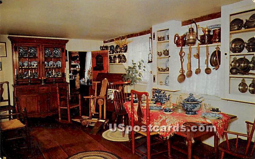 Kitchen, Home Sweet Home - East Hampton, New York NY Postcard
