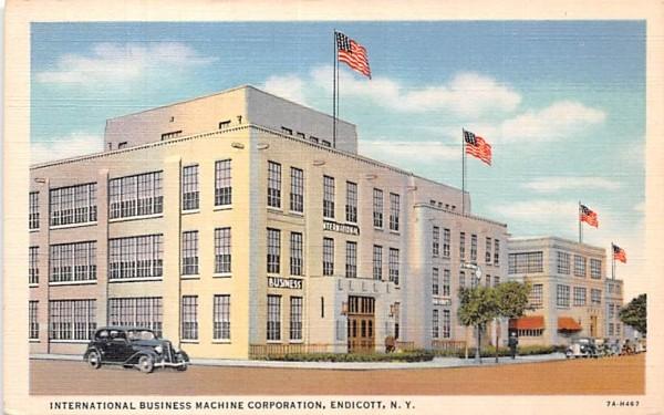 International Business Machine Corp Endicott, New York Postcard