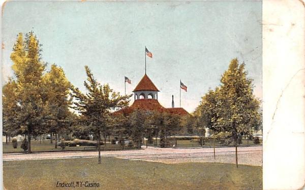 Casino Endicott, New York Postcard
