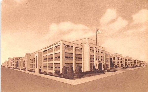 IBM Plant Endicott, New York Postcard