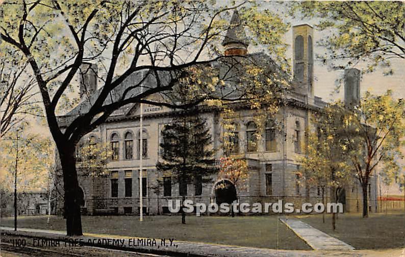 Elmira Free Academy - New York NY Postcard