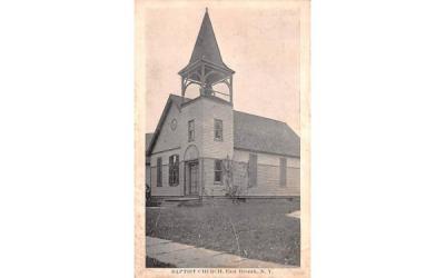 Baptist Church East Branch, New York Postcard