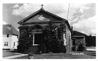 Immaculate Conception Church Eden, New York Postcard