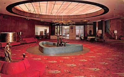 The Nevele Main Lobby Ellenville, New York Postcard