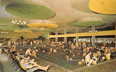The Nevele Waikiki Indoor Pool Ellenville, New York Postcard