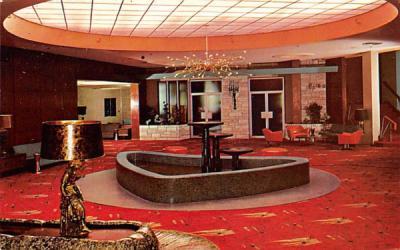 The Nevele Country Club Main Lobby Ellenville, New York Postcard