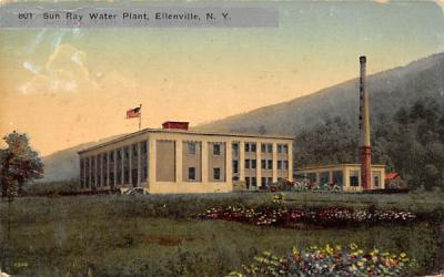801 Sun Ray Water Plant Ellenville, New York Postcard