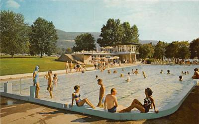 The Nevele Pool Ellenville, New York Postcard