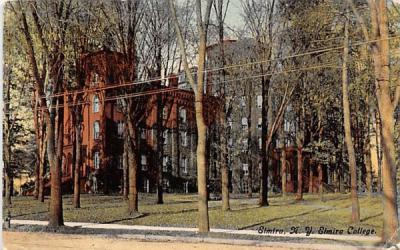 Elmira College New York Postcard