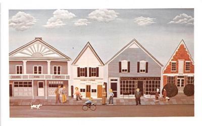 1973 Painting S Alberta Essex, New York Postcard