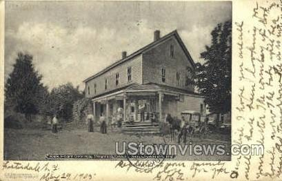 Post Office - Fosterdale, New York NY Postcard