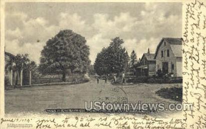 Newburgh Turnpike - Fosterdale, New York NY Postcard