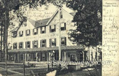 Heights House - Fosterdale, New York NY Postcard