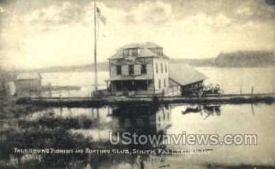 Boating Club - South Fallsburg, New York NY Postcard