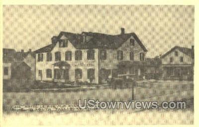 Reproduction Hotel le Roy - South Fallsburg, New York NY Postcard