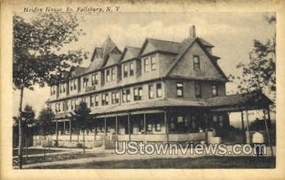 Heiden House - South Fallsburg, New York NY Postcard