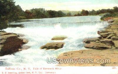 Falls of Neversink - South Fallsburg, New York NY Postcard