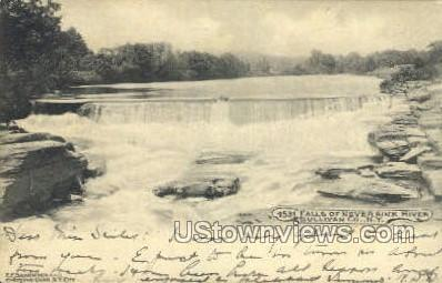 Falls of Neversink - South Fallsburg, New York NY Postcard