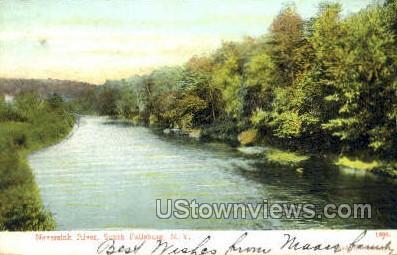 Neversink River - South Fallsburg, New York NY Postcard