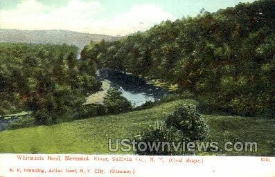 Whittakers Bend - South Fallsburg, New York NY Postcard