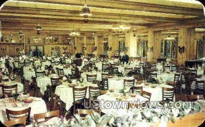 Grossinger's, Dining Room - Ferndale, New York NY Postcard
