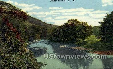 Ferndale, New York, NY Postcard