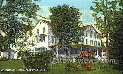 Mongaup - Ferndale, New York NY Postcard