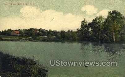 Loders Lake - Ferndale, New York NY Postcard