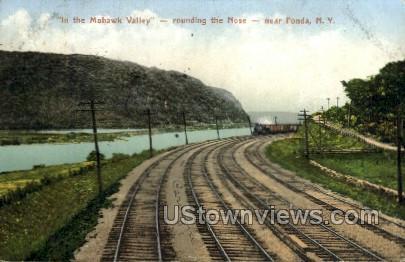 Mohawk Valley - Fonda, New York NY Postcard