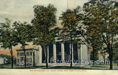 Old Montgomery Co. - Fonda, New York NY Postcard