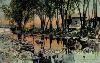 Cayadutta Creek - Fonda, New York NY Postcard