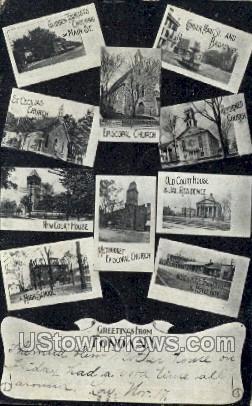 Fonda, New York, NY Postcard