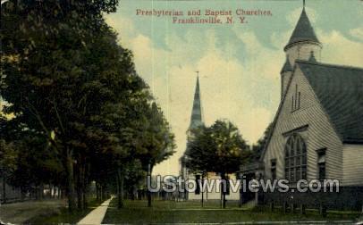 Presbyterian Church - Franklinville, New York NY Postcard