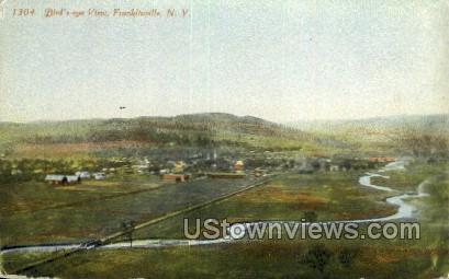 Franklinville, New York, NY Postcard