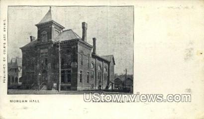 Morgan Hall - Franklinville, New York NY Postcard