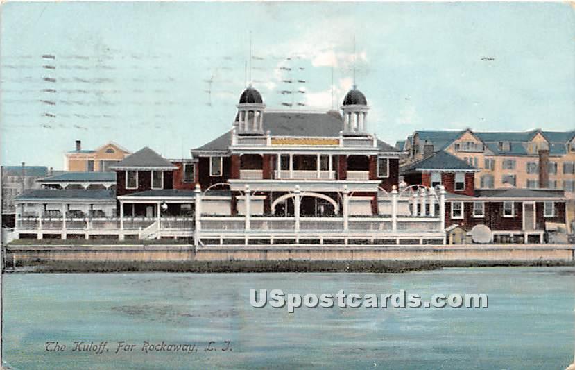 Kuloff - Far Rockaway, New York NY Postcard