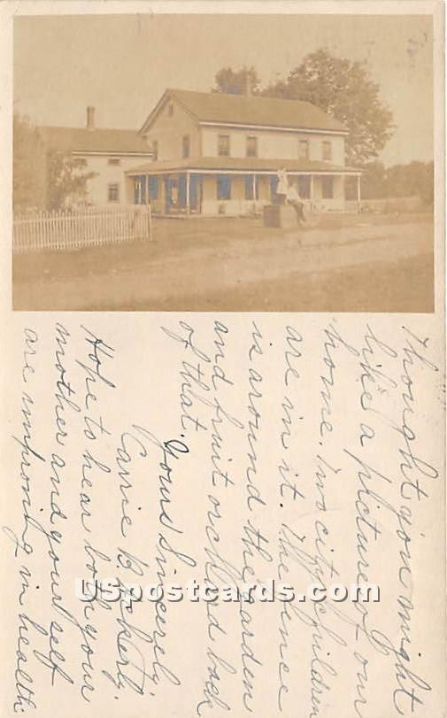 Residence - Ferndale, New York NY Postcard