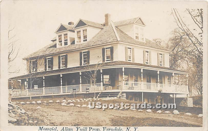 Mossgiel - Ferndale, New York NY Postcard