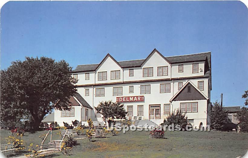 Delmar Hotel - Ferndale, New York NY Postcard