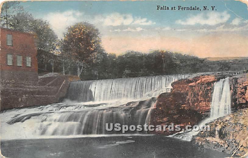 Falls - Ferndale, New York NY Postcard