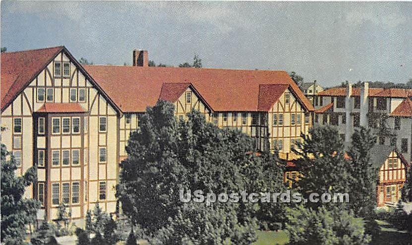 The Grossinger Hotel & Country Club - Ferndale, New York NY Postcard