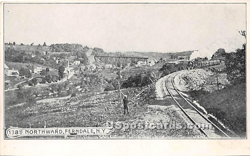 Northward - Ferndale, New York NY Postcard