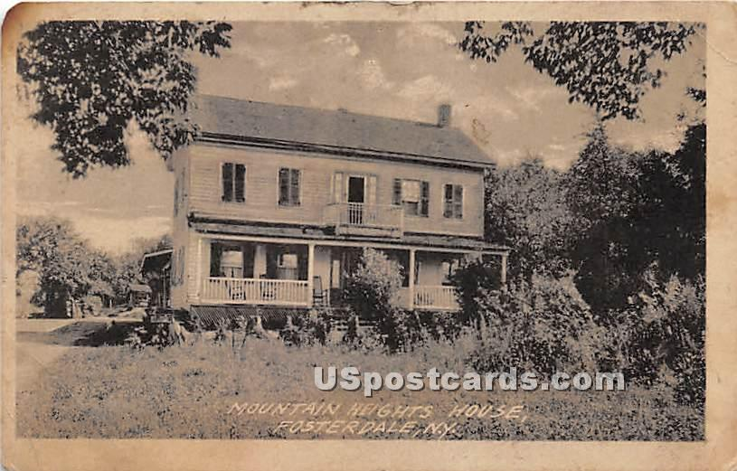 Mountain Heights House - Fosterdale, New York NY Postcard