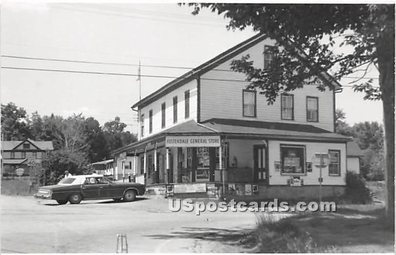 Fosterdale General Store - New York NY Postcard