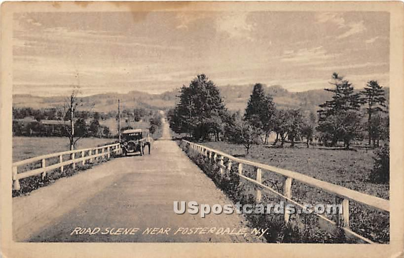 Road - Fosterdale, New York NY Postcard