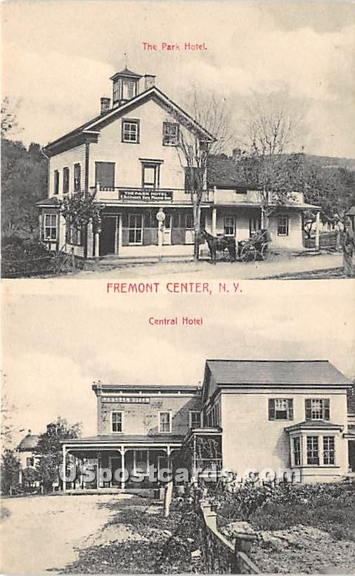 The Park Hotel - Fremont Center, New York NY Postcard